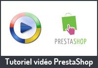 Tutoriel vidéo ecommerce utilisation boutique PrestaShop