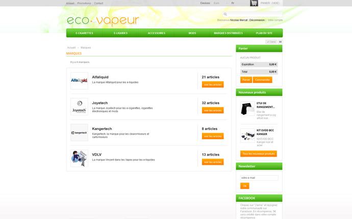 Réalisation : Eco Vapeur