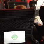 Dans le TGV direction Paris
